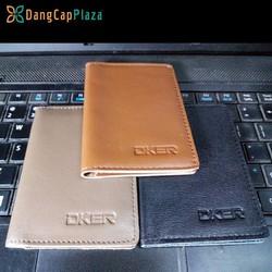Ví siêu mỏng DKER đựng tiền, namcard, thẻ