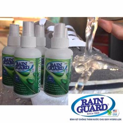 Bình xịt nano Chống thấm nước Rainguard - Hydrolok - Hoa kỳ
