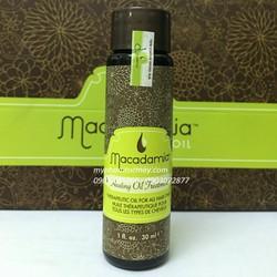 TINH DẦU PHỤC HỒI BIỂU BÌ TÓC Macadamia Healing Oil Treatment 30ML
