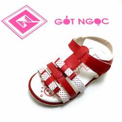 Giày sandal bé gái nơ nhí D-008-N
