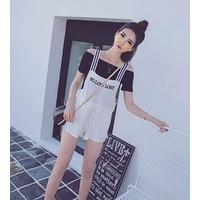 QUẦN SHORT YẾM NO LOVE LOST Mã: QN682 - TRẮNG