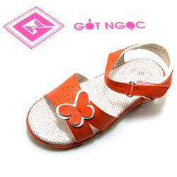 Giày sandal bé gái nơ bướm D-010-T