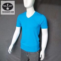 CHUYÊN SỈ VÀ LẺ áo thun ngắn tay cổ tim Facioshop VF02