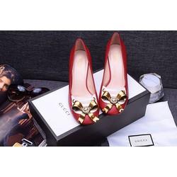 Giày cao gót kiểu dáng đẹp gắn nơ xinh cực yêu 1