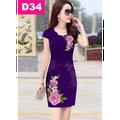 Đầm in 3D sang trọng