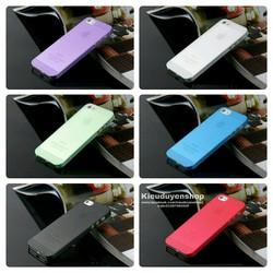 Iphone 5-5S-5SE Combo 2 ốp nhựa siêu mỏng
