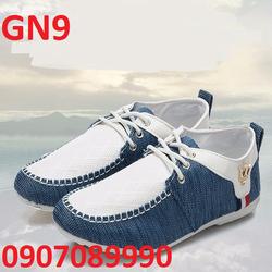 Giày lười nam Jean Denim chính hãng cao cấp 2016 - GN9