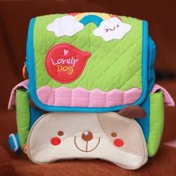 Balo chất vải crepe mềm mại, an toàn cho bé