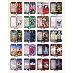 Ốp chống lưng dán cường lực iPhone 5 5S SE 6 6S 6 Plus 6S Plus