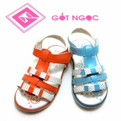 Giày sandal bé gái nơ D-008-T