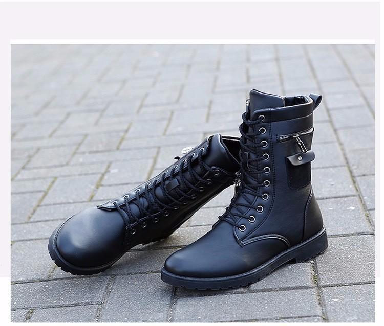 Giày Bốt Nam cao cấp Hàn Quốc - GN109 8