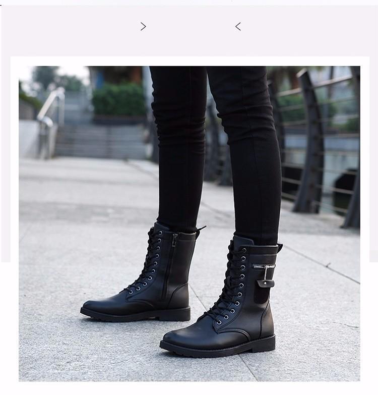 Giày Bốt Nam cao cấp Hàn Quốc - GN109 3