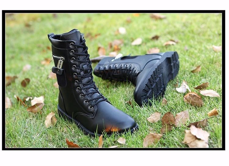 Giày Bốt Nam cao cấp Hàn Quốc - GN109 6