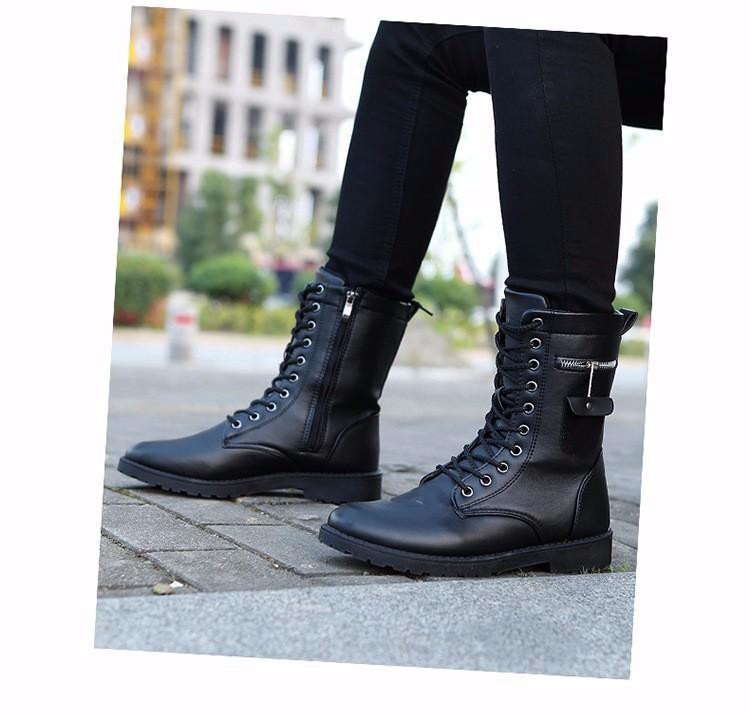 Giày Bốt Nam cao cấp Hàn Quốc - GN109 9
