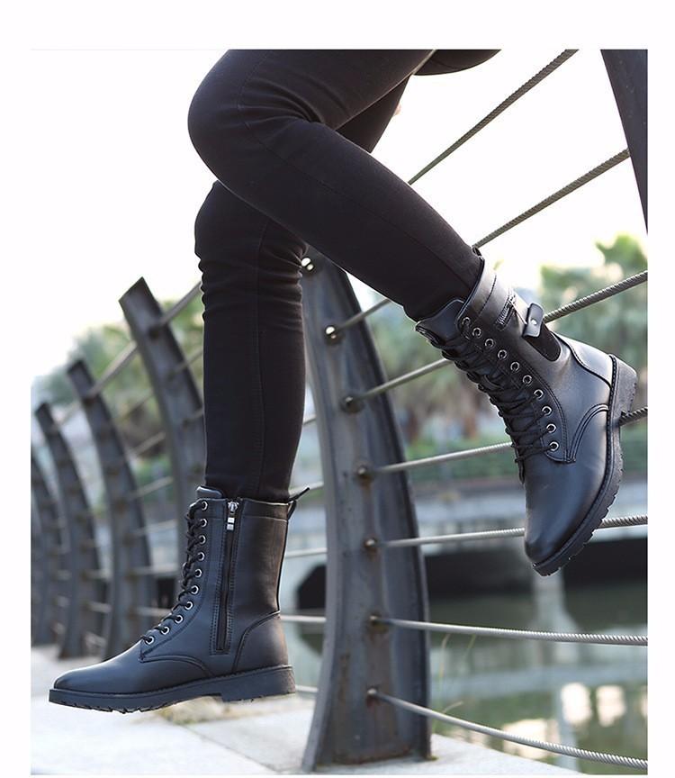 Giày Bốt Nam cao cấp Hàn Quốc - GN109 2