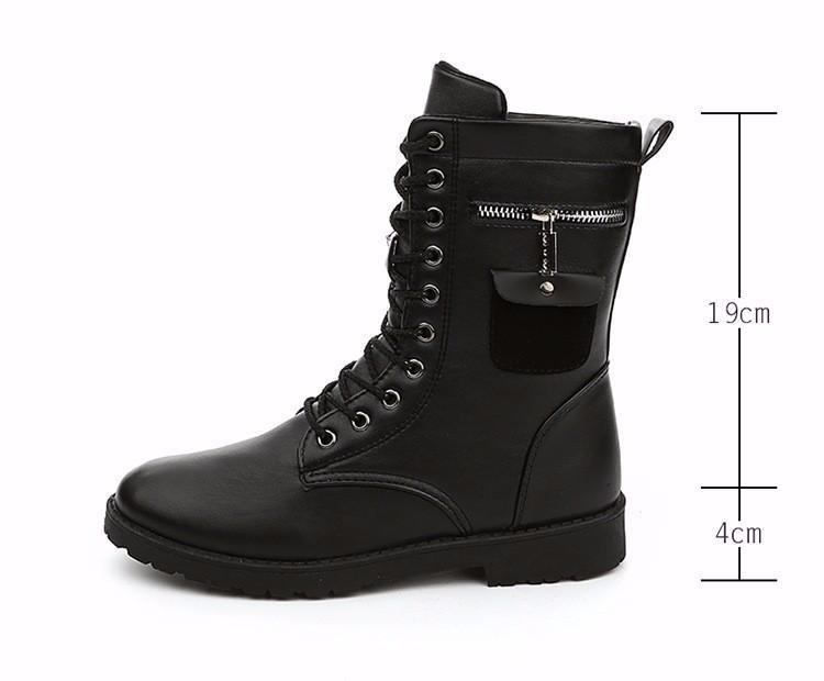Giày Bốt Nam cao cấp Hàn Quốc - GN109 4
