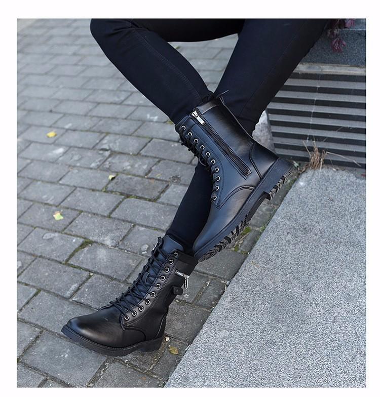 Giày Bốt Nam cao cấp Hàn Quốc - GN109 5