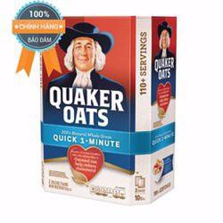 Yến mạch Quaker Oats 1 minutes cán vỡ 4.5kg hàng nhập khẩu từ Mỹ