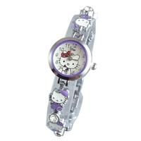 Đồng hồ nữ JW Kitty tím SP227