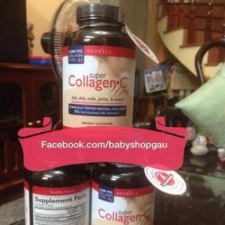 Thuốc bổ sung collagen NeoCell type I và III, vitamin C 250 viên