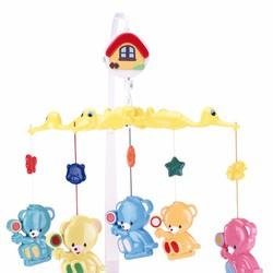 Đồ Chơi Nhạc Canpol Plastic Bears With Sweets 2-971