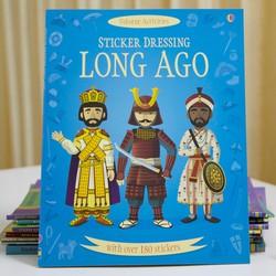 Sách Usborne - Sách Sticker Long Ago