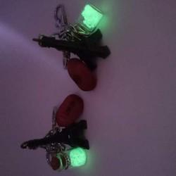 Móc khóa tháp eiffel phát sáng