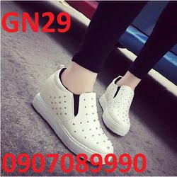 Giày bánh mì đế cao 5cm Hàn Quốc - GN29