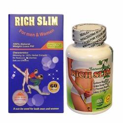 Viên uống giảm cân Rich Slim USA 60 viên