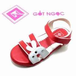 Giày sandal bé gái nhí tai thỏ D-031-N