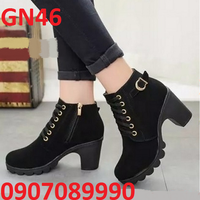 Giày bốt nữ thời trang cá tính - GN46