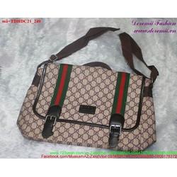 Túi đeo đi học đi chơi hoa văn sành điệu bụi bặm TDHDC21