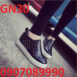 Giày bánh mì đế cao 5cm Hàn Quốc - GN30