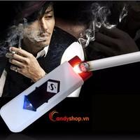 Bật lửa sạc điện USB candyshop88.vn