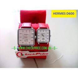 Đồng hồ đôi Hermes D600 thiết kế đẹp chất lượng cao