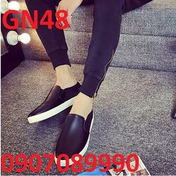 Giày lười nam chất liệu da from ý cao cấp - GN48