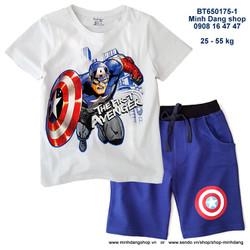 Bộ Captain quần jean thun rất đẹp
