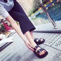 Giày Xăng đan Nữ Giày Sandal Nữ Màu Đen G056-D