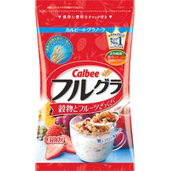 Ngũ cốc hoa quả calbee furugura Nhật Bản 380