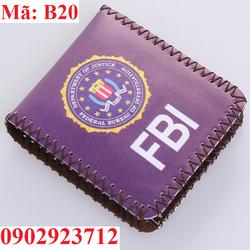 Ví Da Nam Hàng Độc FBI Cao Cấp - B20