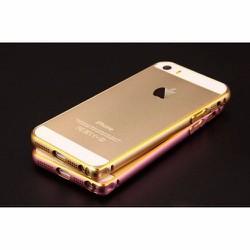 Viền iPhone 5-5s-Se nhôm Mốc câu chỉ vàng