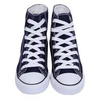 Giày Trainer Sneaker Vải Bata Cột Dây Cao Cổ Nữ