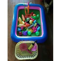 bộ đồ chơi câu cá bể phao cho các bé