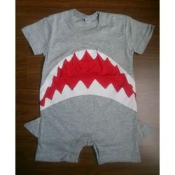 Bodysuit hình cá mập cho bé trai