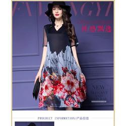 Đầm nữ ngắn tay thời trang, phong cách hiện đại