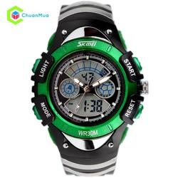 Đồng hồ Bé trai Skmei 0998 chống nước DHA313-D1071 - Xanh lá