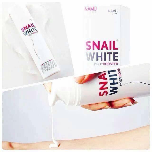 Kem dưỡng thể Snail white body lotion spf90 PA +++ 3