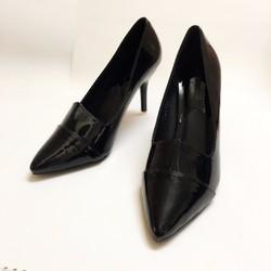 Giày cao gót da bóng