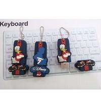 Móc Khóa USB 4Gb Chống Sốc- Hình Vịt Donal