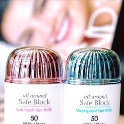 Kem chống nắng Missha All-around Safe Block Soft Finish Sun Milk SPF50